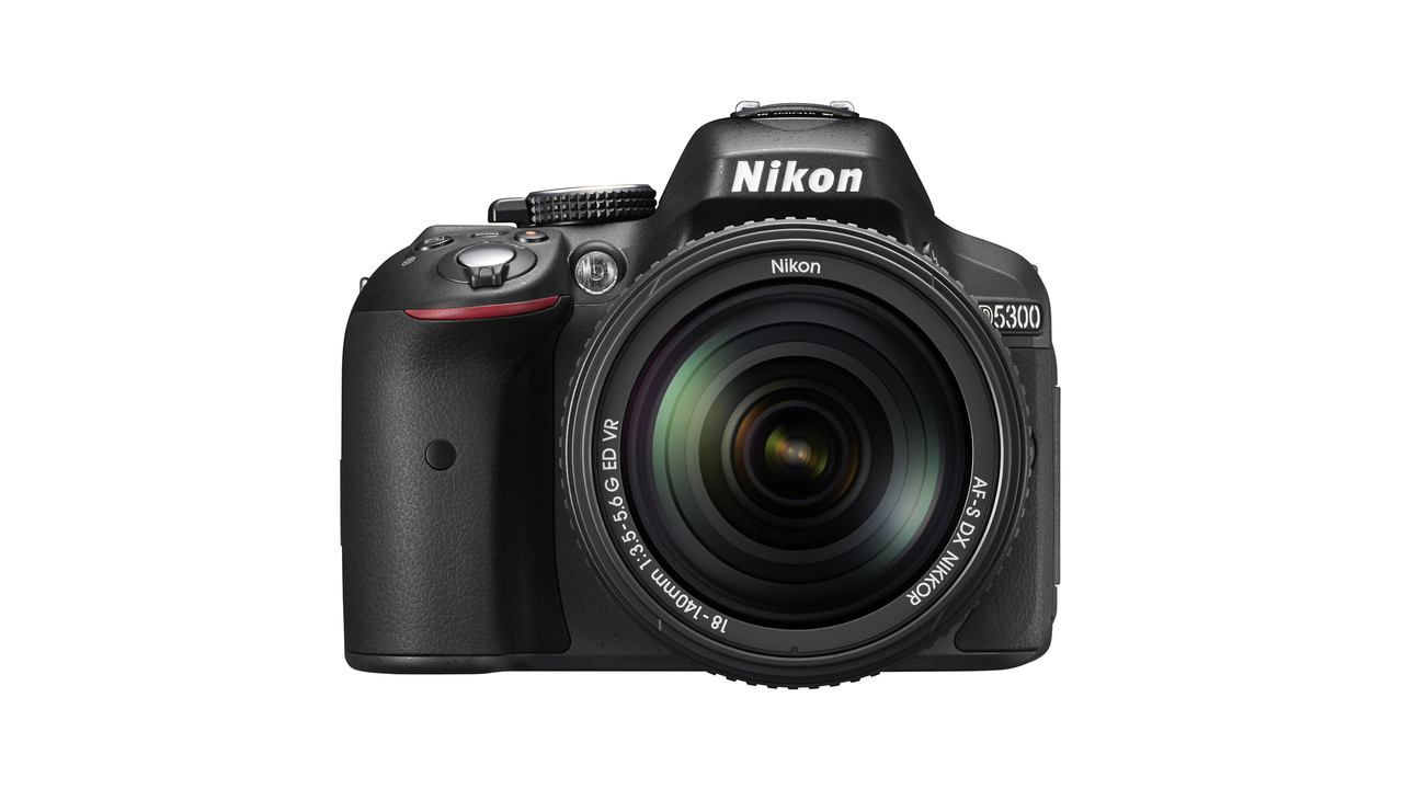 Nikon D5300 D-SLR Camera With Built-In Wi-Fi