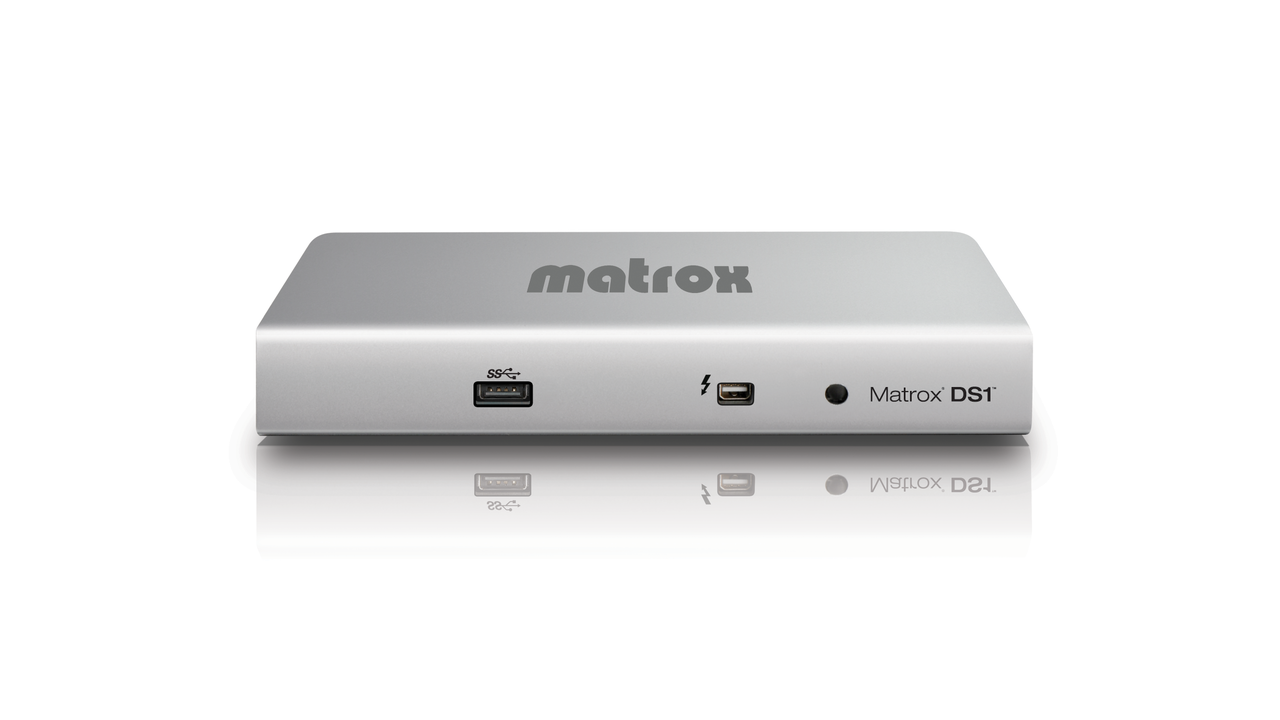 Matrox DS1 Thunderbolt Docking Station for MacBooks