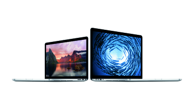 Apple Releases New Retina Display MacBook Pros