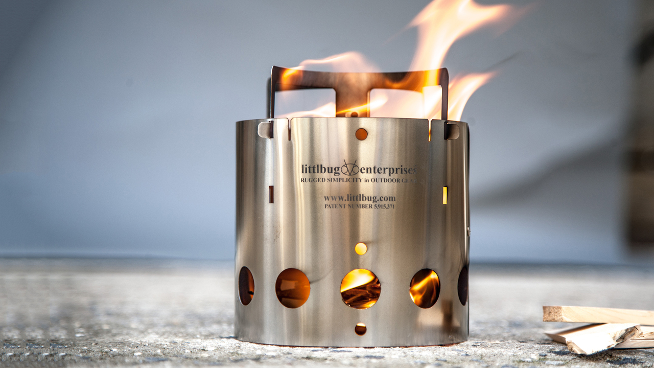 Ultra-Thin Stainless Steel Camp Stove