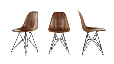 The Eames Molded Wood Chair by Herman Miller