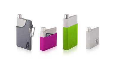 HIPP Titanium: The Hip Flask Reborn in Titanium