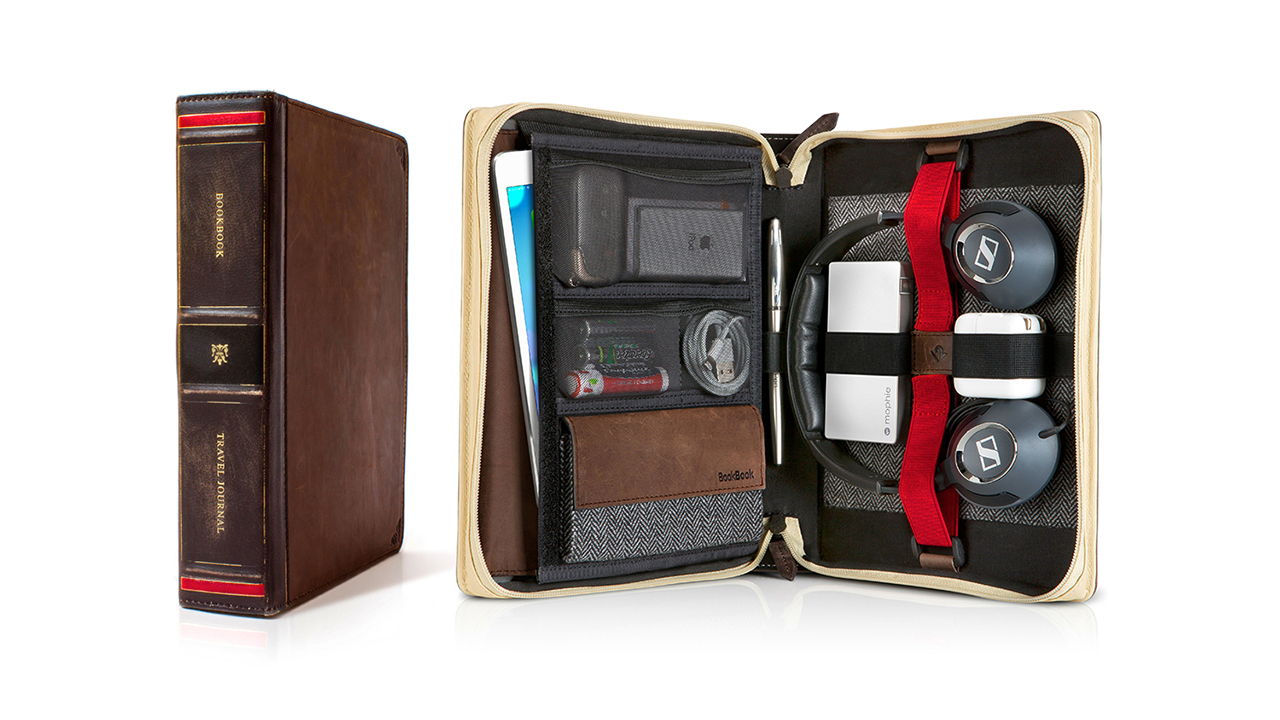 Twelve South BookBook Travel Journal Case for iPad