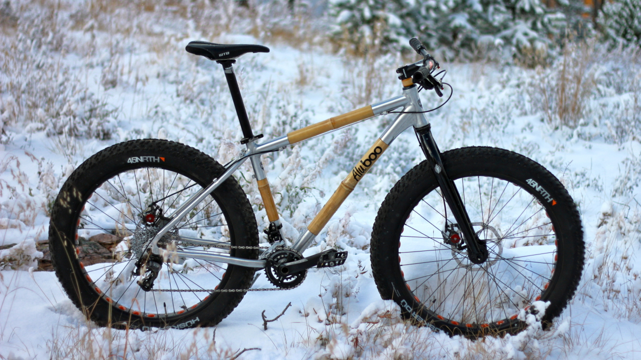 Alubooyah Fat Bike by Boo Bicycles
