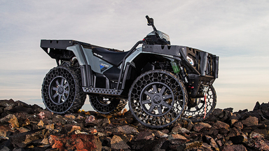 Polaris SPORTSMAN WV 850 H.O. Military-Grade Consumer Work Vehicle