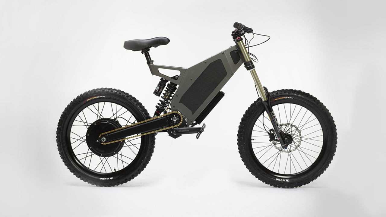The Bomber Electric Bike by Stealth Bikes