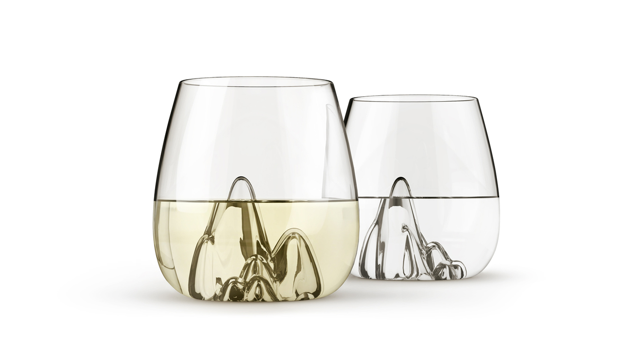 Escape Hand Blown Glass Tumblers by Aruliden