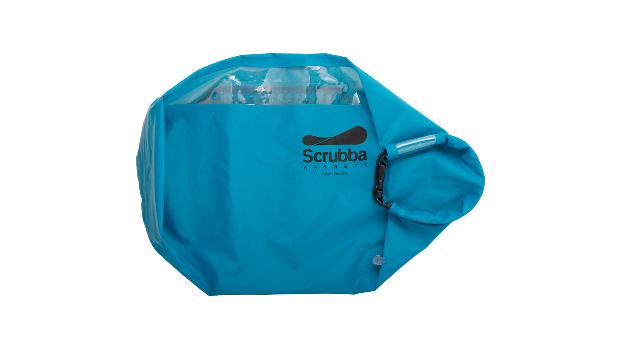 Wash Your Clothes on The Go With the Scrubba Wash Bag