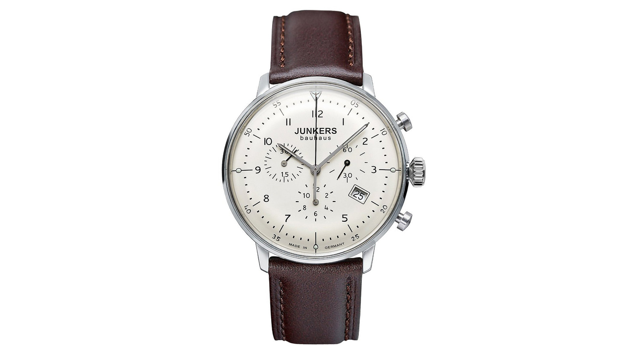 Junkers Bauhaus 6086-5 Quartz Chronograph Watch
