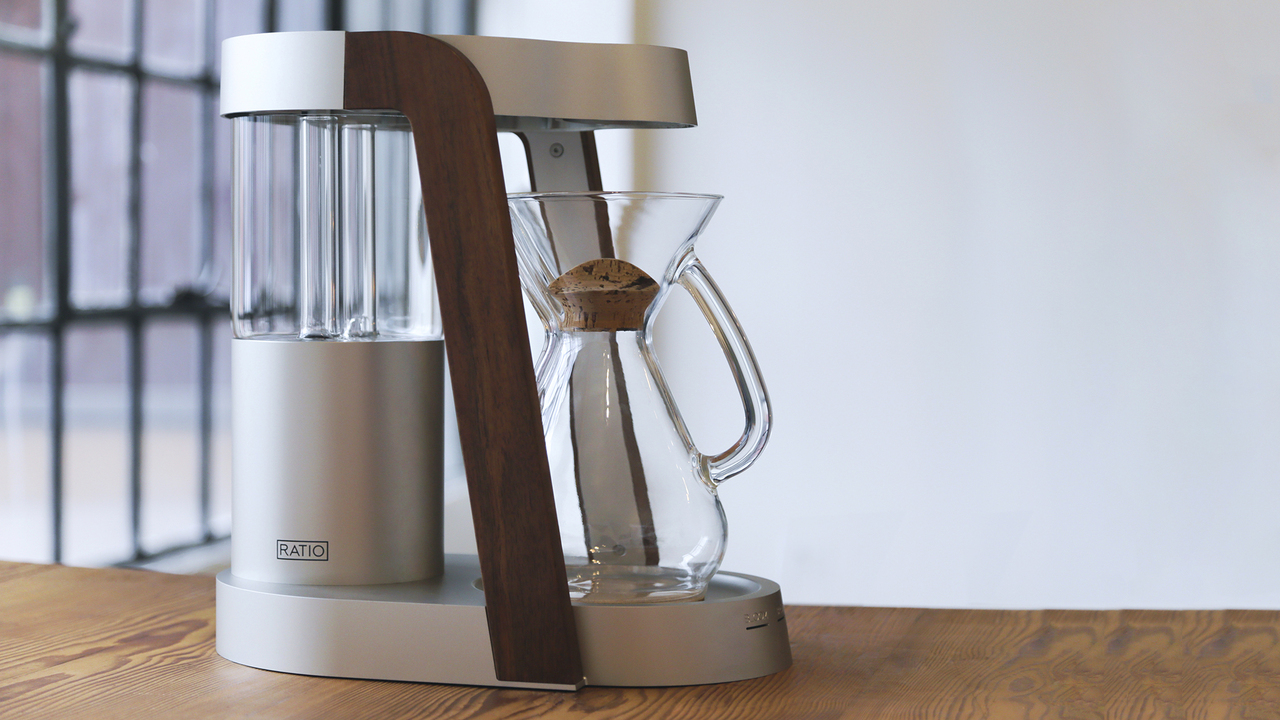 The Ratio Eight Coffee Maker by Mark Hellweg