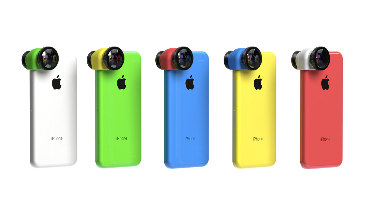 Olloclip 3-in-1 Photo Lens for iPhone 5c