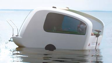 Sealander Floating Camper
