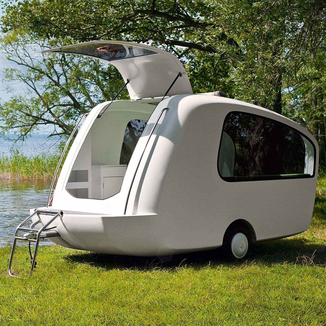 Desire this sealander floating camper Sealander caravan