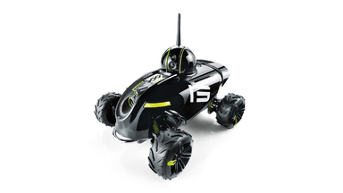 Rover Revolution App-Controlled Wireless Spy Vehicle