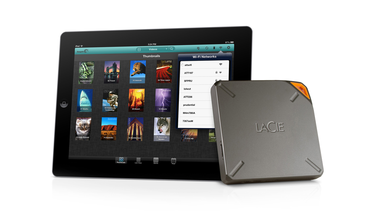 LaCie Fuel Expands iPad Capacity to 1TB