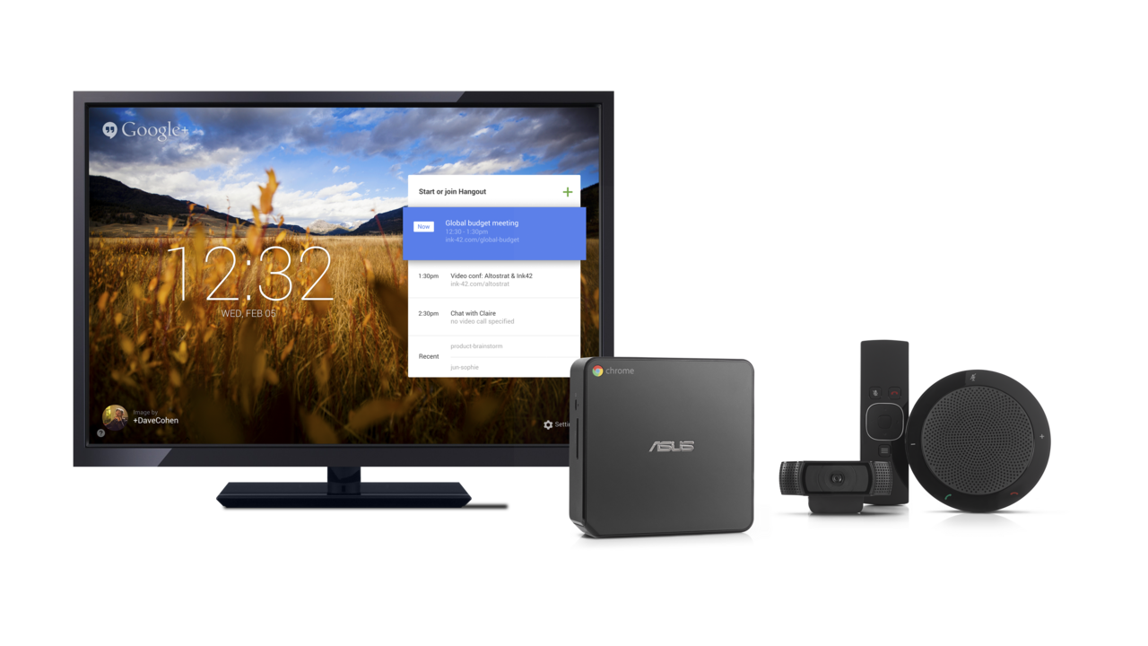 Google Chromebox for Meetings