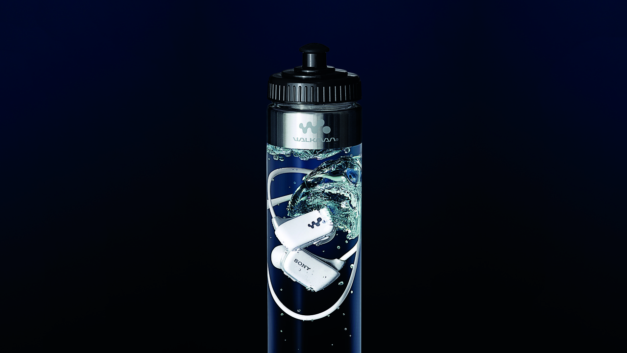 Sony W Series Sports Walkman Comes Inside a Bottle of Water