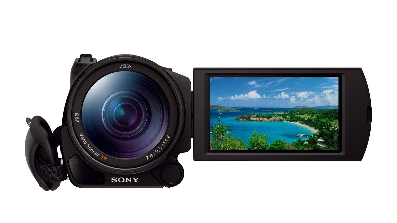 Sony Handycam FDR-AX100 4K Video Camera