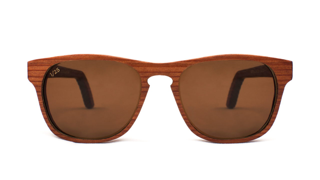 New Capital Eyewear Sunglasses Made From 1,000  Year Old Redwood