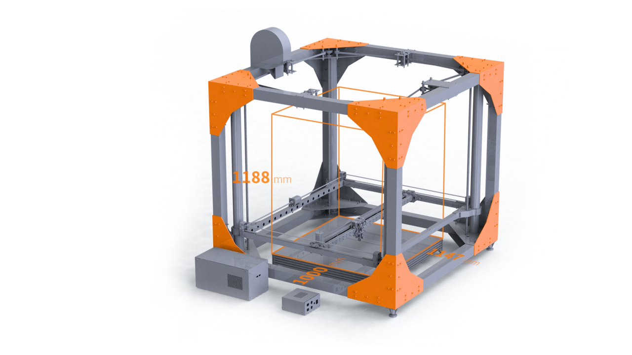 Berlin Startup Company BigRep Sells the Largest Serial 3D Printer in the World