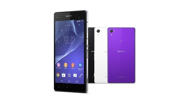 Sony Introduces Waterproof Xperia Z2 Smartphone with 4K Recording