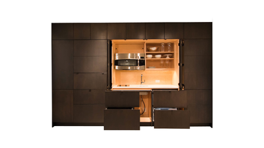 Resource Furniture Stealth Kitchen