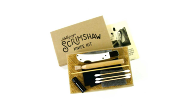 The Scrimshaw Knife Kit