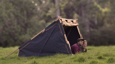 Under Cover Camper Two Person Canvas Tent by Nikolai Sorensen