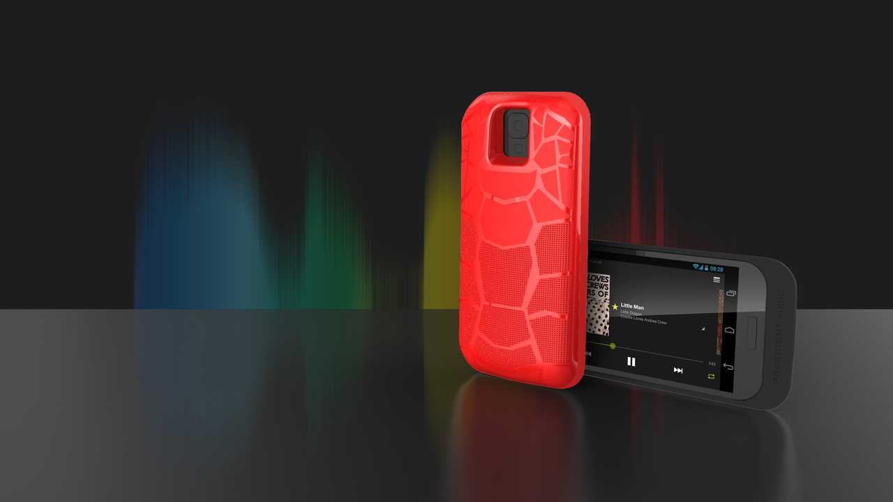 Play Music on the Go With the Prescient AudioCase