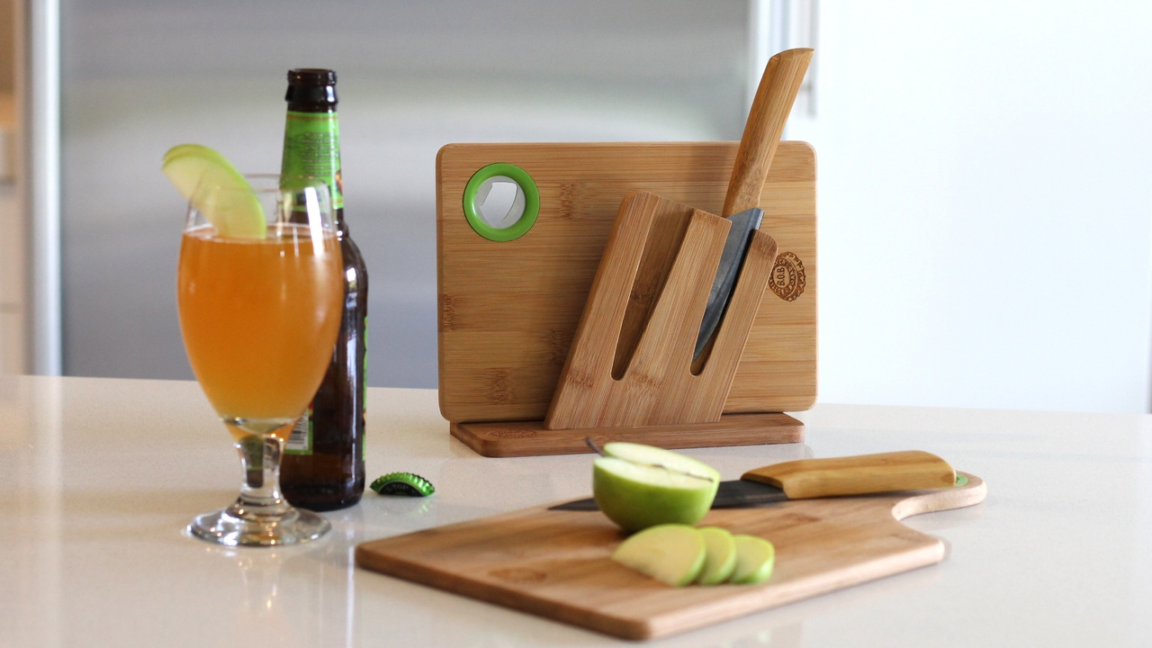 B.O.B Cutting Board & Bottle Opener