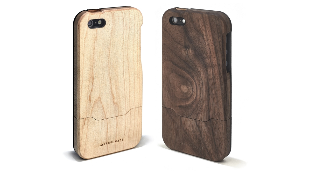 The Grove Bamboo Case for iPhone 5/5s