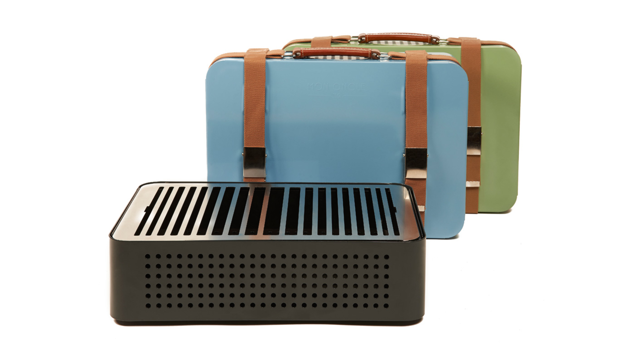 Mon Oncle Portable Briefcase Grill