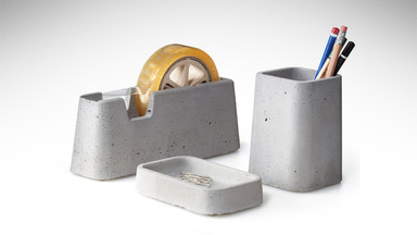 Magnus Petterson Concrete Desk Set
