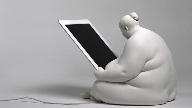 The Venus of Cupertino iPad Dock