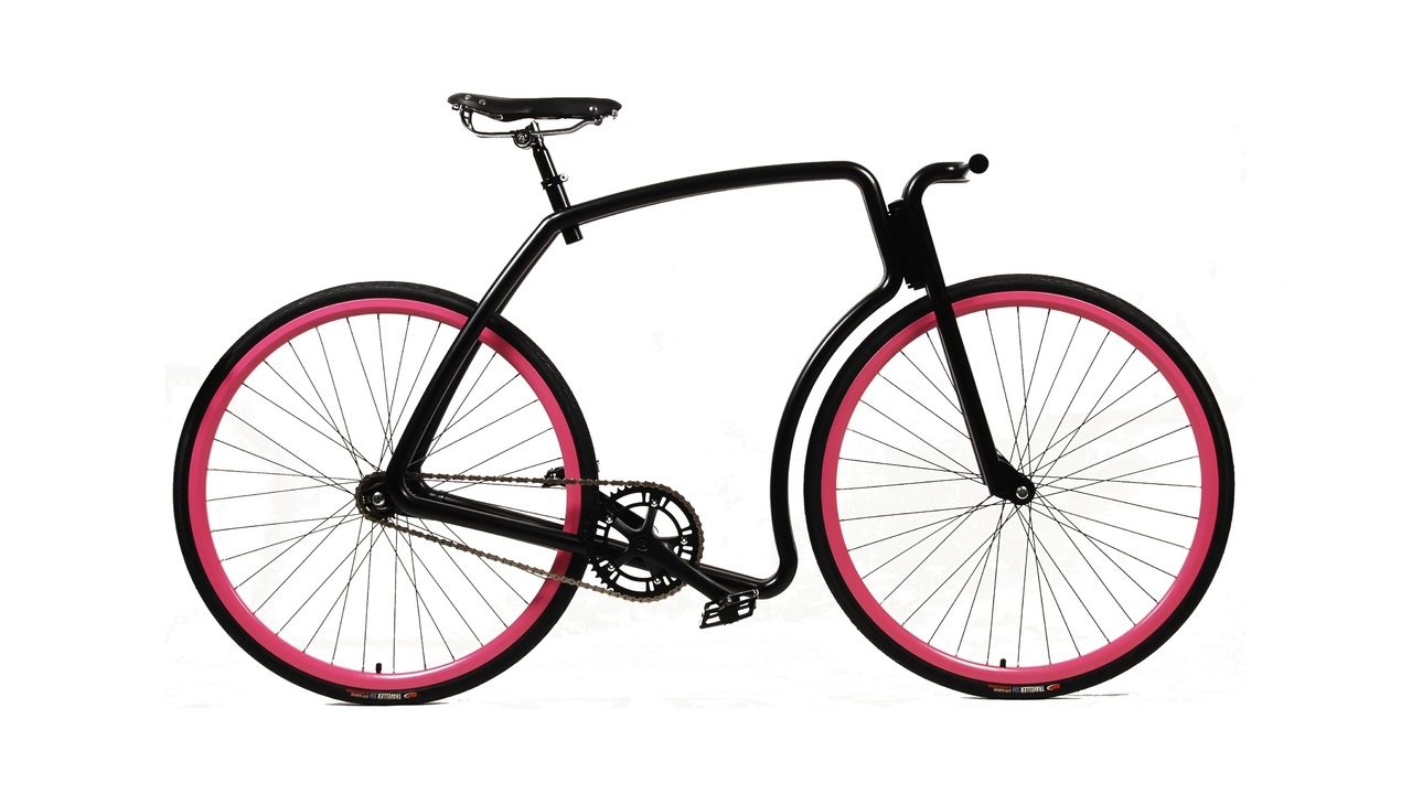 VIKS Urban Steel Commuter Bike