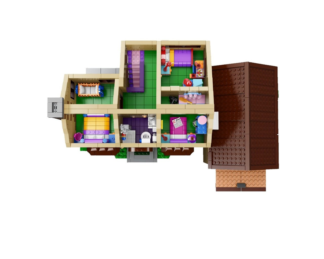 Desire This The Lego Simpsons House