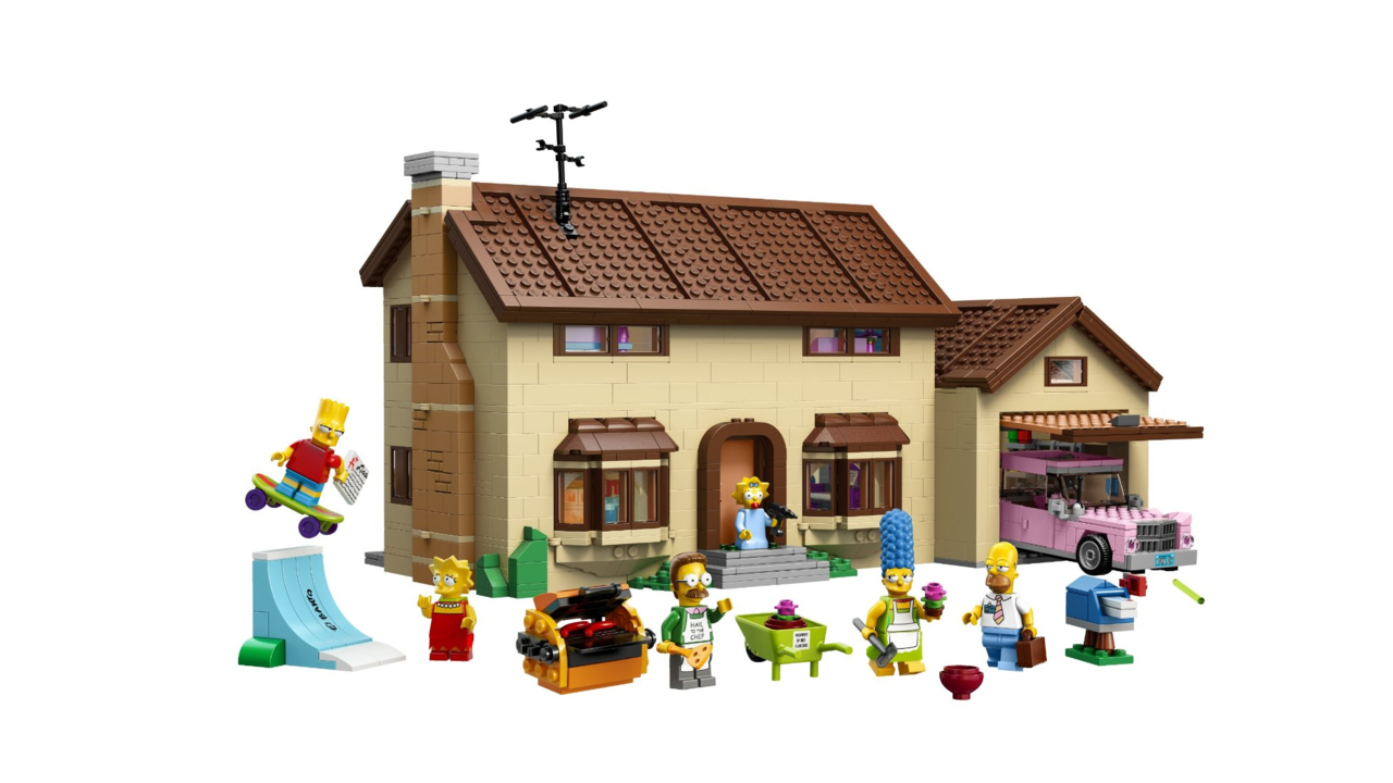 The LEGO Simpsons House