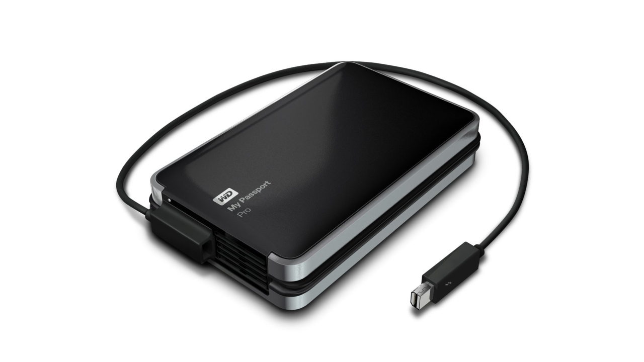 First Portable Thunderbolt-Powered Dual-Drive Solution by Western Digital