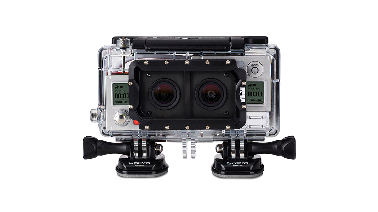 Dual 3D Go Pro HERO System