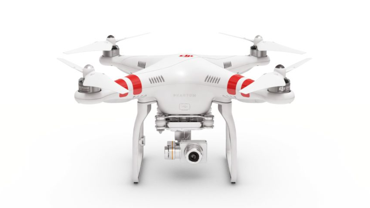 DJI Phantom 2 Vision+ Quadcopter with FPV HD Video Camera and 3-Axis Gimbal