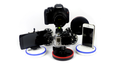 Take Seamless Panoramic Photos with Spinpod