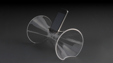 My Phone Amp Acoustic Amplifier and Viewing Stand
