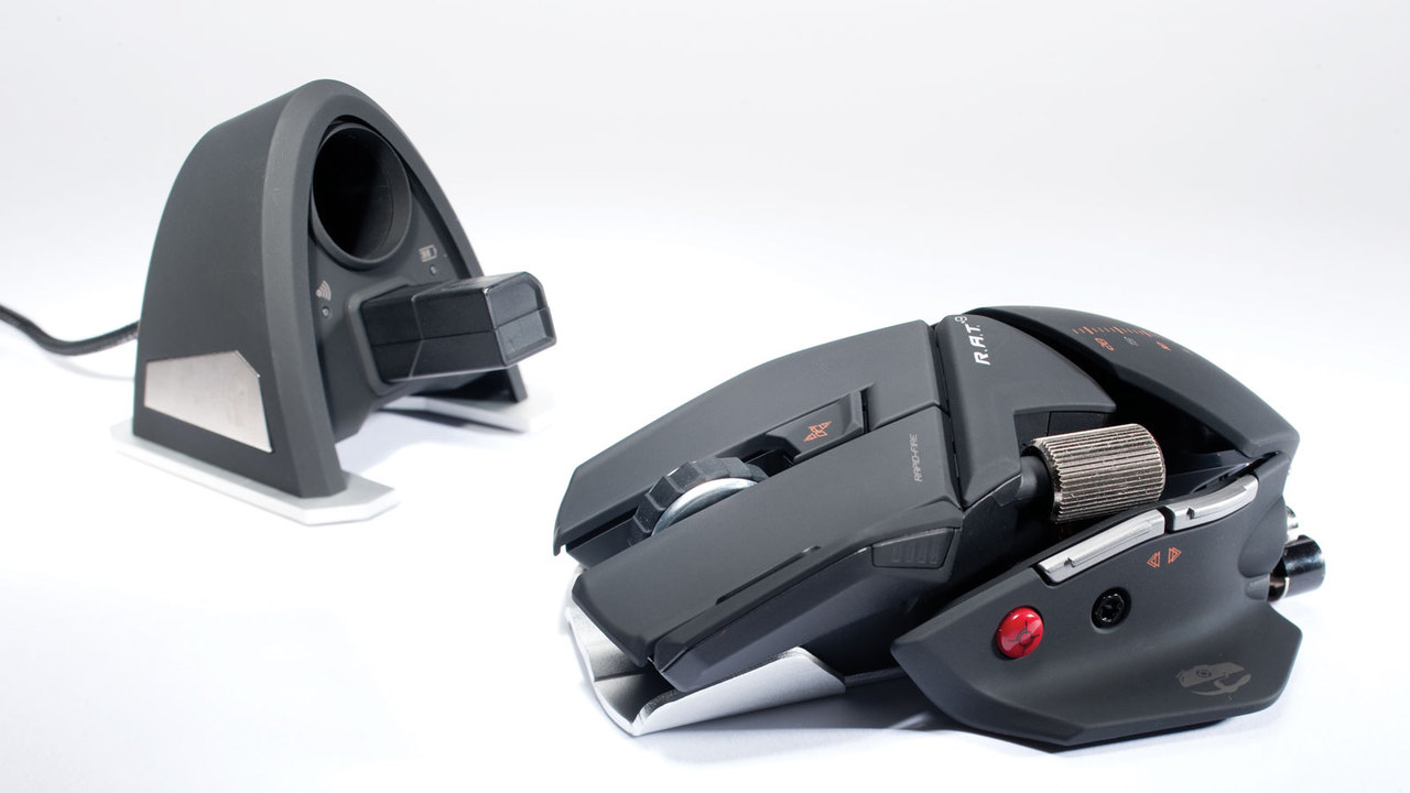 Mad Catz R.A.T. 9 Professional Wireless Gaming Mouse