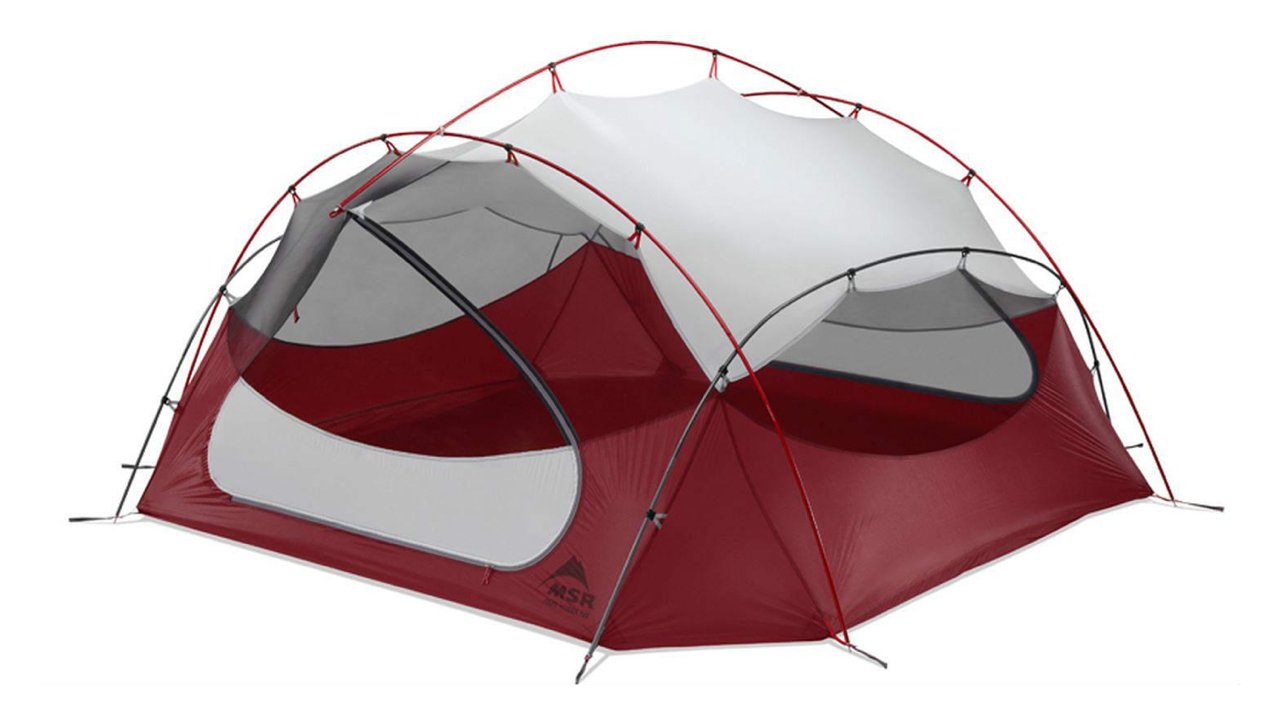 MSR Papa Hubba NX 4 Person Backpacking Tent