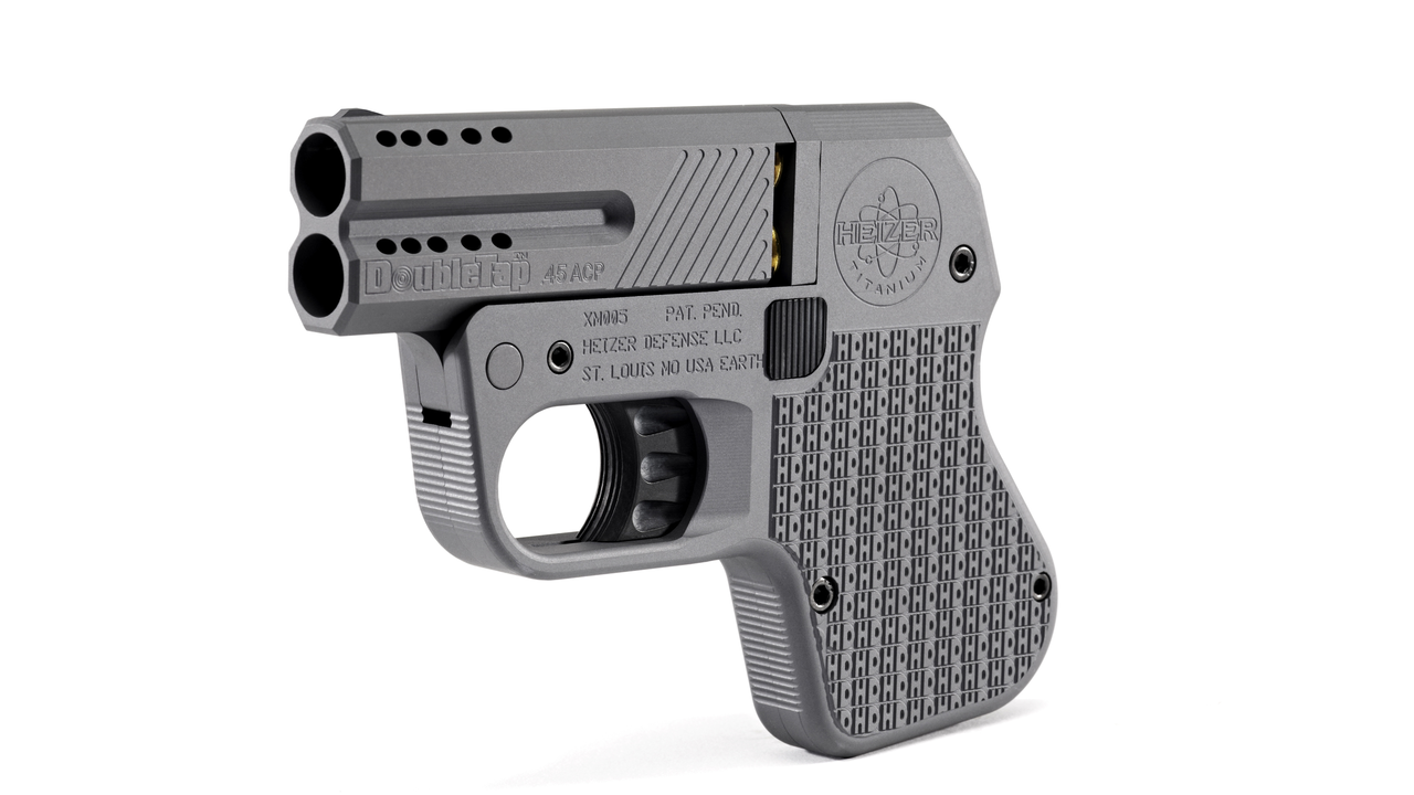 Heizer Defense DoubleTap Tactical Pistol