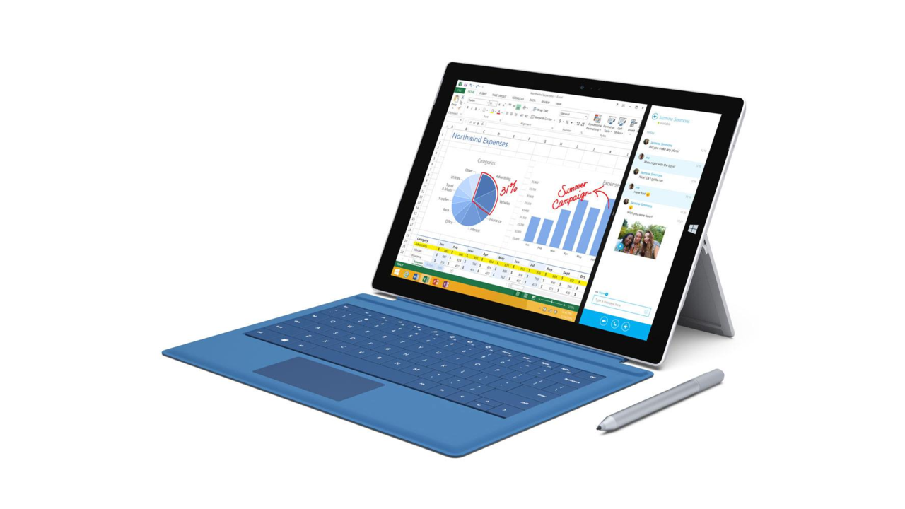 Microsoft Introduces the Surface Pro 3
