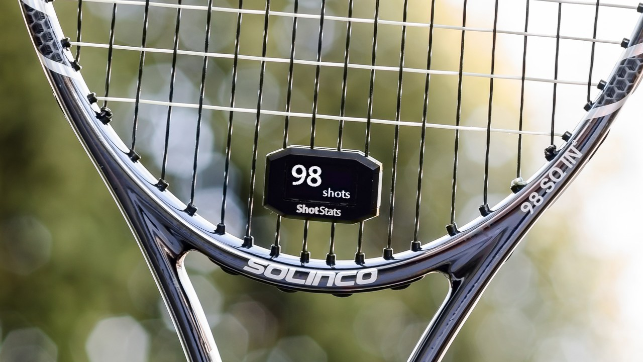 Make Your Tennis Racket Smarter with Shot Stats Challenger