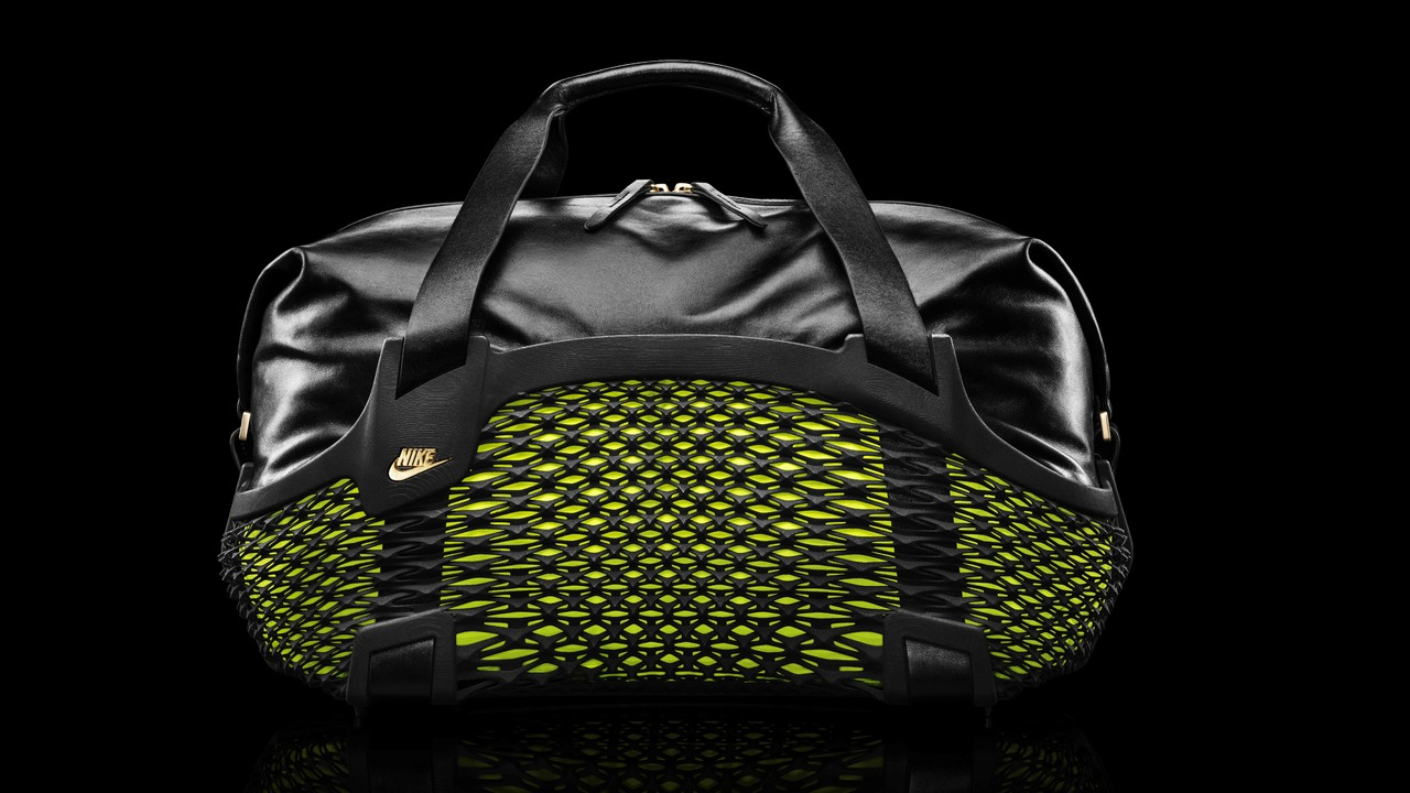 Nike Football Rebento Duffel: Worlds First 3D Printed Sports Bag