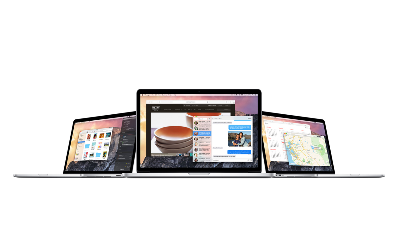Apple Announces OS X Yosemite With a Ton of New Features