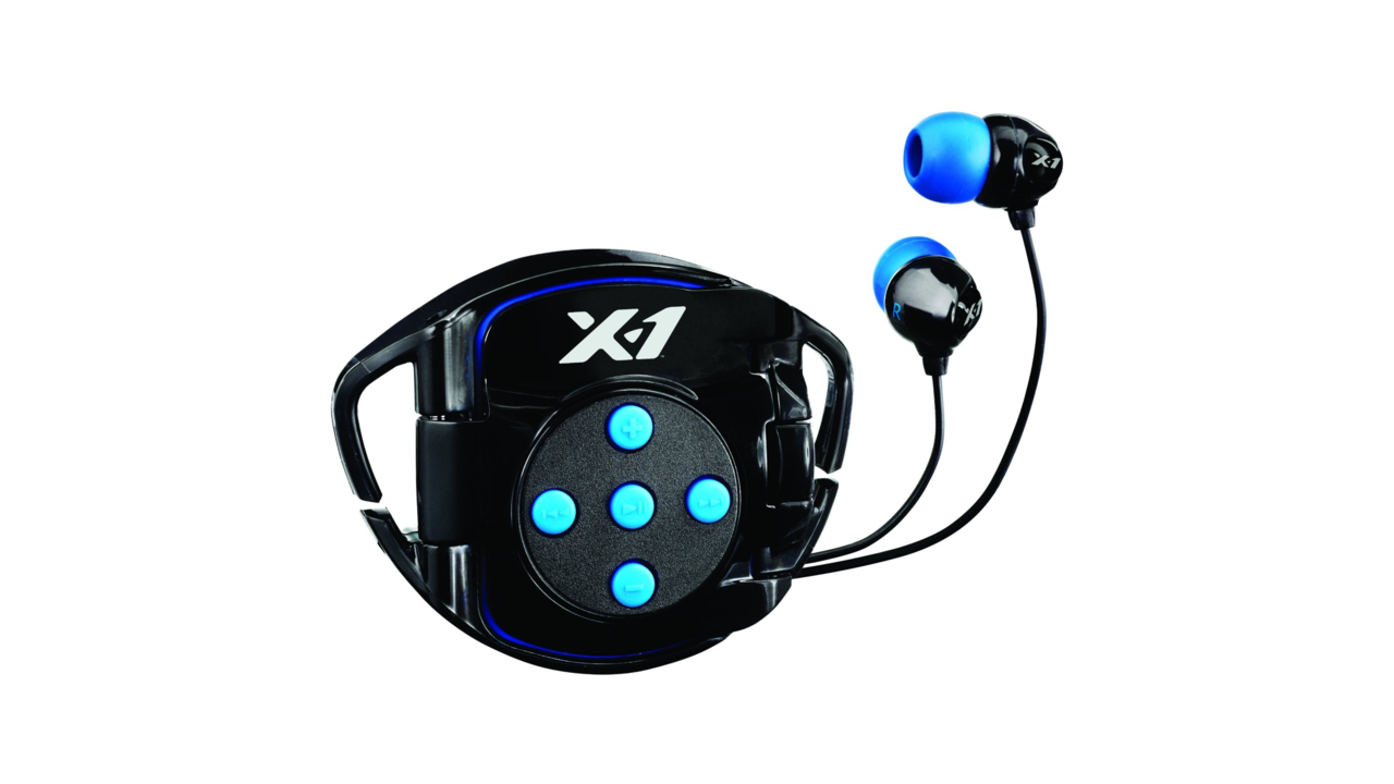 X-1 INT4-BK-X Interval 4G Waterproof Headphone